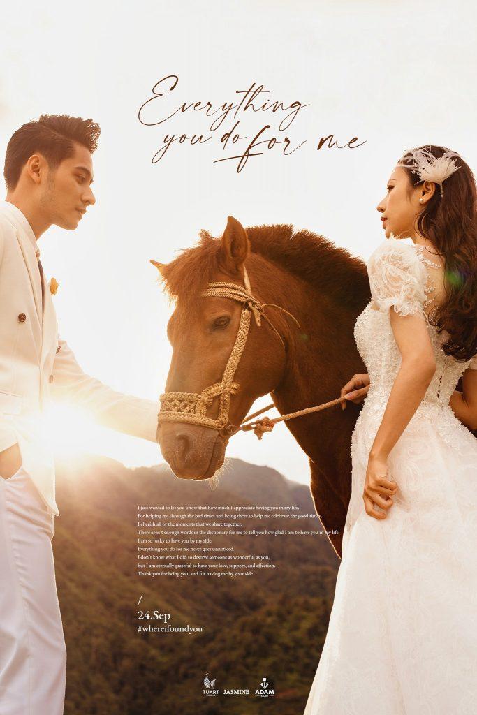 hình cưới đẹp cầu giấy