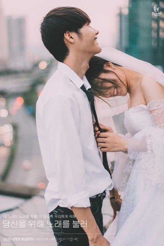 ảnh cưới màu phim đẹp